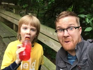 Gibson and me at Binder Park Zoo